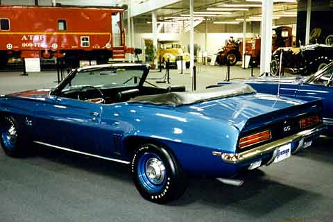 The L89 Engine Option Was Highest Performance Motor Available As An Rpo Regular Production Order In A 69 Camaro Convertible Copo Central Office