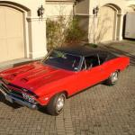 1968 Harrell 427 Dual Quad Chevelle