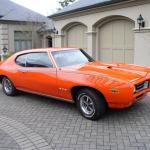 1969 GTO Judge Ram Air IV 4 speed