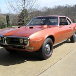 1968 Ram Air II Firebird 4 speed
